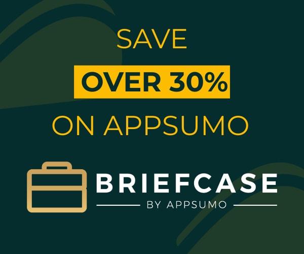 appsumo briefcase save on appsumo with briefcase 600x500