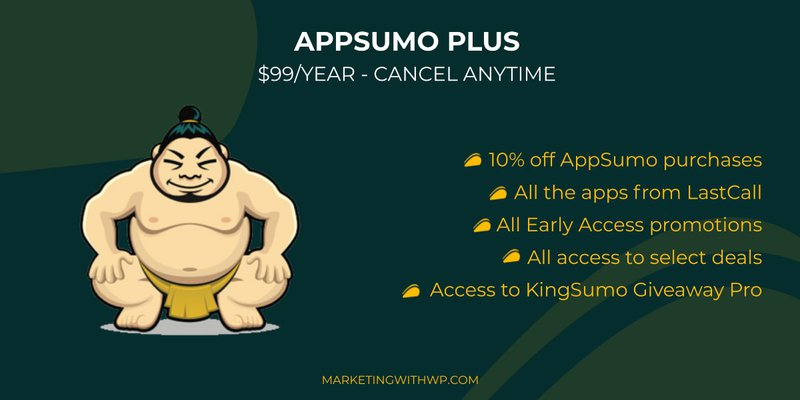 Appsumo Plus Features and Benefits