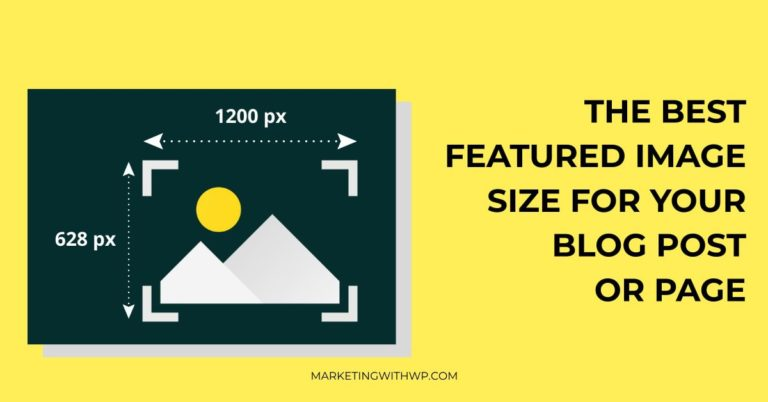What is the best Featured Image Size for WordPress website?