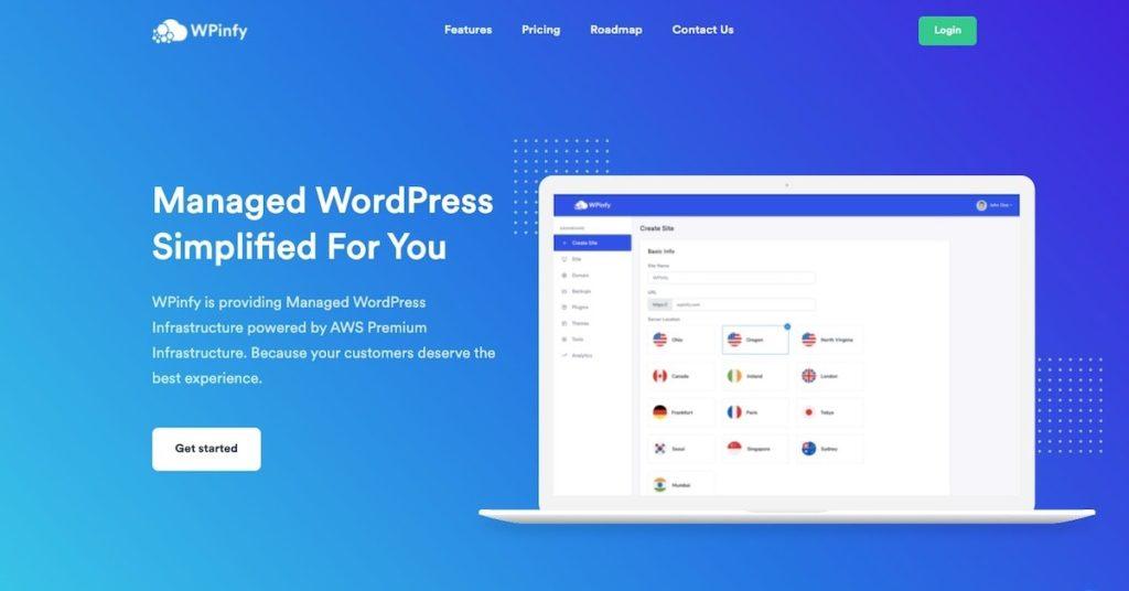 WPinfy Managed WordPress Hosting