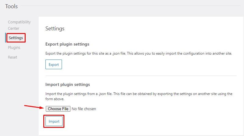 SEOPress settings import install and setup seopress