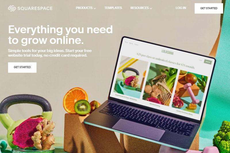 squarespace best content marketing cms