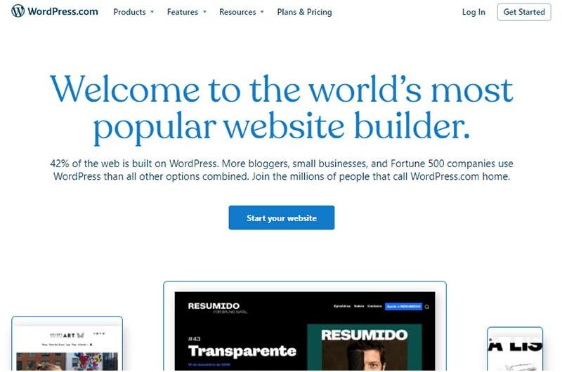 wordpress com best content marketing cms