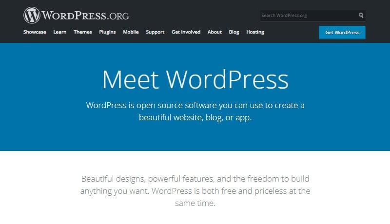 wordpress org best content marketing cms