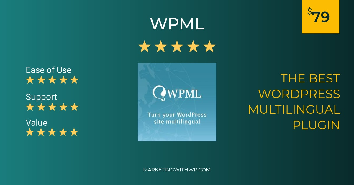 wpml wordpress multilingual plugin review summary