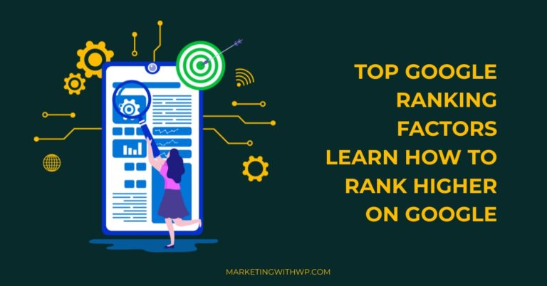 top google ranking factors learn how to rank on google cover image