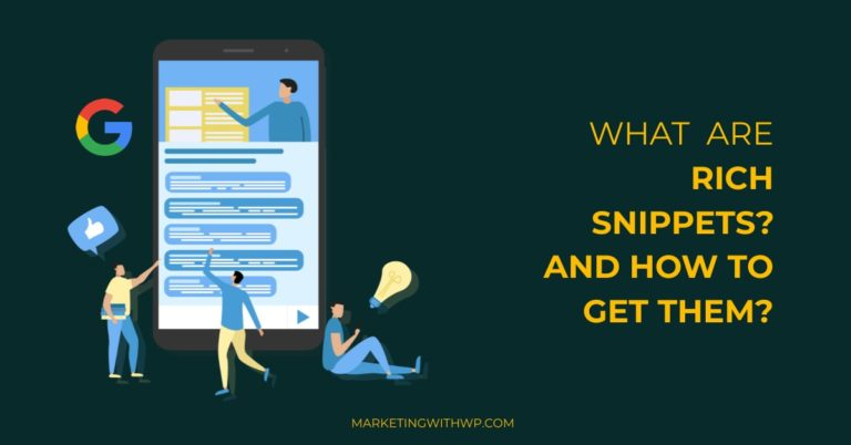 what are rich snippets and how to optimize content for rich snippet cover image