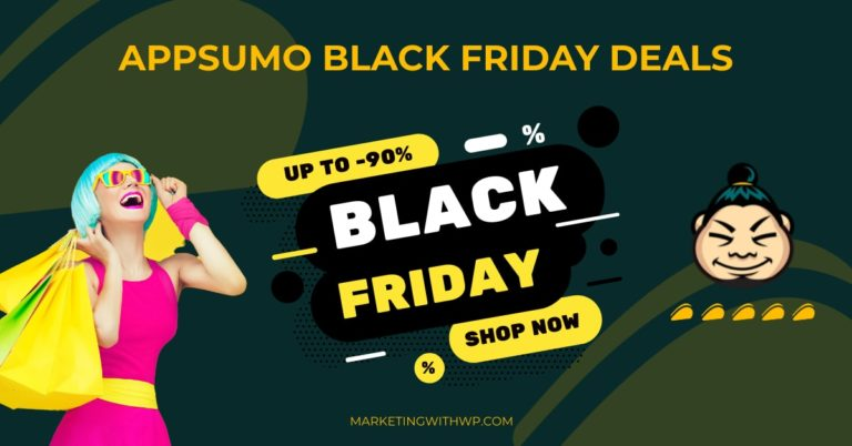 AppSumo Black Friday Cyber Monday Sale 2021 (Up to 90% Off)