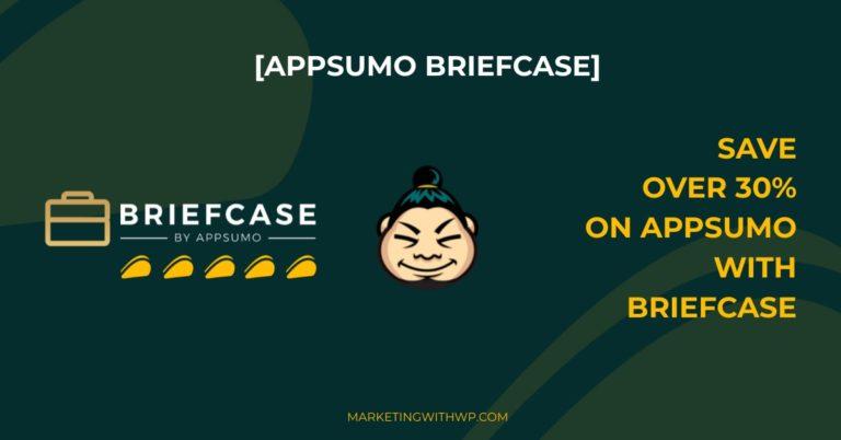 AppSumo Briefcase – Save over 30% in AppSumo Purchase!