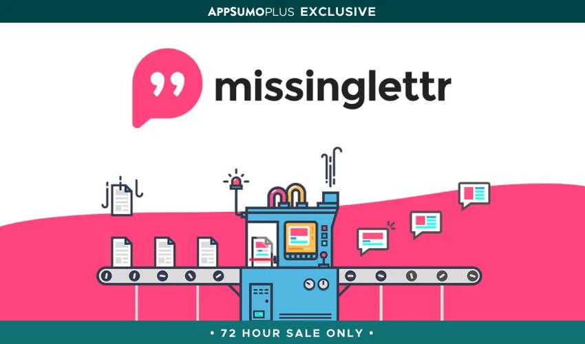 missinglettr lifetime deal appsumo briefcase